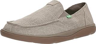 حذاء Sanuk للرجال Vagabond Tripper Grain Slub Loafer
