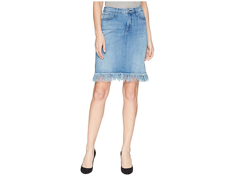 NYDJ Five-Pocket Skirt w/ Long Fray in Capitola (Capitola) Women
