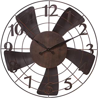 Best vintage fan wall clock Reviews