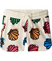 Stella McCartney Kids - Beryl Seashell Print Knit Shorts (Toddler/Little Kids/Big Kids)