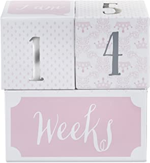 Baby Aspen My First Milestone Princess Age Blocks | Baby Picture Props for Photo Sharing The First Year