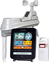 AcuRite 01022M Pro Station, Rain, Wind, Temperature, Humidity and Weather Ticker, Lightning Detection