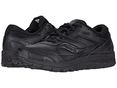 Saucony Kids S-Cohesion 13 LTT (Little Kid/Big Kid) (Black/Black) Kids Shoes