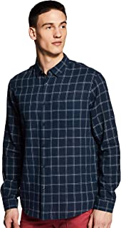 Celio Mens Checked Casual Shirt