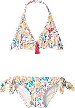 Roxy Kids - Caravine Beauty Halter Set (Toddler/Little Kids)