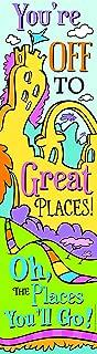 Eureka Dr. Seuss Oh the Places You'll Go Motivational Poster Classroom Door Decoration, 12'' x 45''