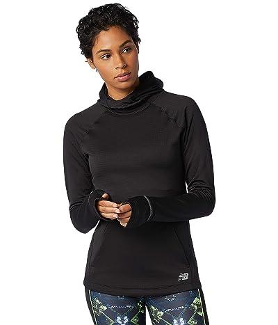 New Balance Heat Grid Hoodie (Black) Women