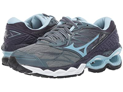Mizuno Wave Creation 20 (Graphite/Cool Blue) Women