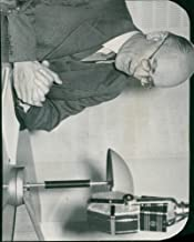 Vintage photo of Picture of Minister Gustaf Andersson - 14 September 1944