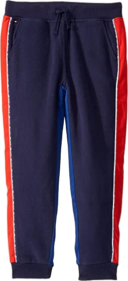 Tommy Hilfiger Girls Big Adaptive Seated Fit Cropped Pant with Adjustable Waist and Hems Vegas Wash 16