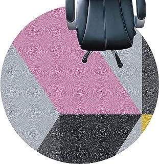 cojín de la silla redonda Tapetes Para Sillas Para Alfombras, Tapetes Para Sillas De Oficina, Protección Para El Piso, Tapetes Duraderos Para Sillas, Tapetes Para Escritorio (Size:80cm(31in),Color:UN)
