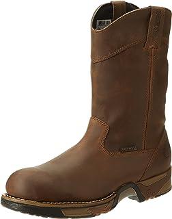 أحذية طويلة طويلة طويلة طويلة طويلة طويلة طويلة الرقبة بتصميم WELNGTN RWP من Rocky FQ0006639 مقاس متوسط 8