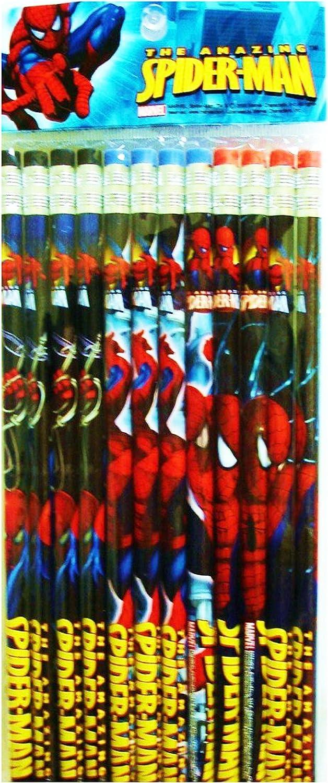 Marvel Spiderman Bleistifte - 12 12 12 Stück B003A7ESMQ | Zuverlässige Leistung  7299b2