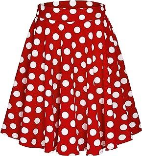 polka skirt outfit