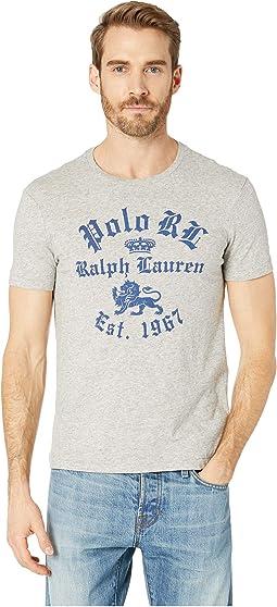 30/1 Jersey Short Sleeve Custom Slim Fit T-Shirt