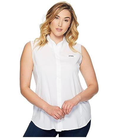 Columbia Plus Size Tamiami Sleeveless Shirt