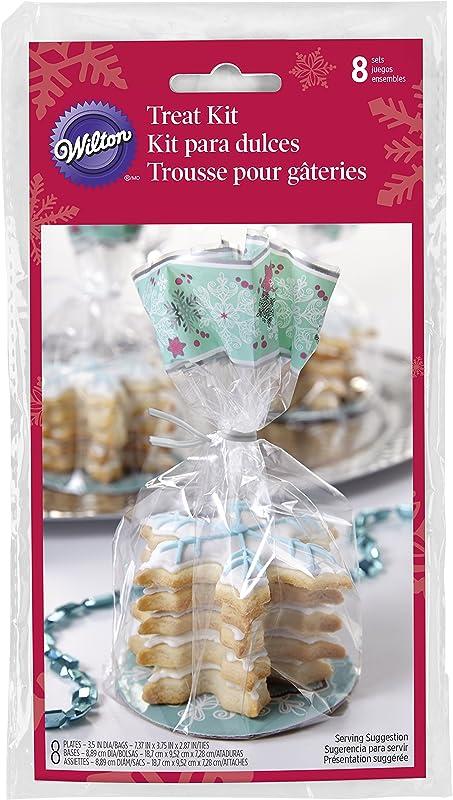 Wilton Snowflake Cookie Gifting Kit 8 Pack