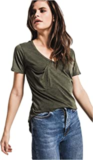 Women's The Pocket Tee Relaxed Fit Burnout Top