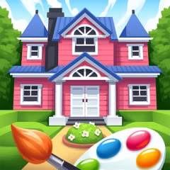 - original gameplay: combination of coloring book and home design - creative game for real designers - hundreds of beautiful pictures to colour - different art styles of illustrations: geometric art, flat art, pixelart, low poly - different choices o...