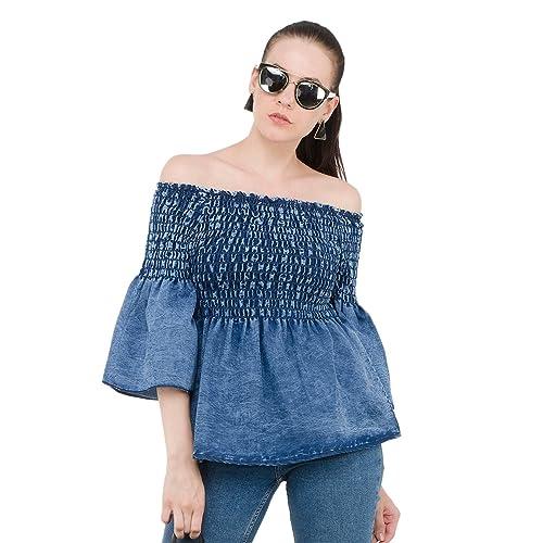 427b3ef608 Women s Off Shoulder Tops  Buy Women s Off Shoulder Tops Online at ...