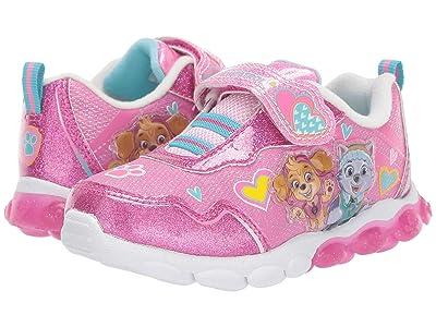 Josmo Kids Paw Patrol Heart Sneaker (Toddler/Little Kid) (Fuchsia) Girl