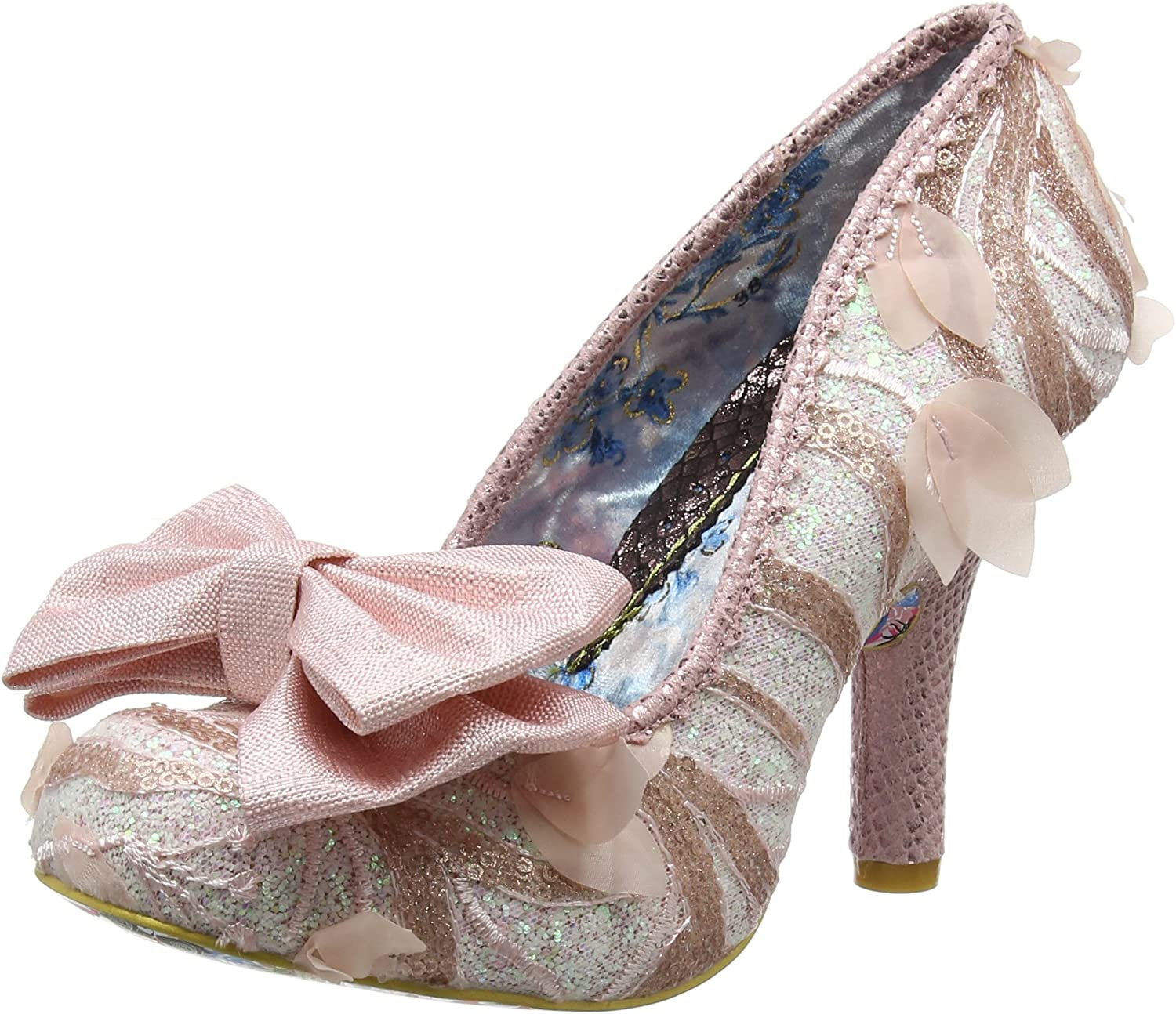 Irregular Choice Womens Mal E Bow Synthetic shoes