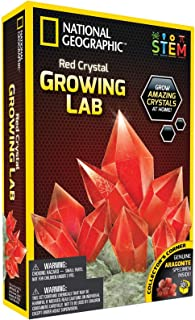 Glow-in-the-Dark Crystal Growing Science Kit by NATIONAL GEOGRAPHIC NGRCRYSTAL