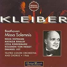 Ludwig van Beethoven: Missa Solemnis (1946)