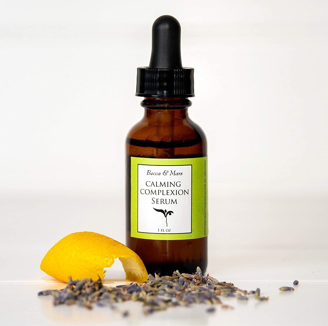 Calming Complexion Serum - Facial Serum, Lavender and Lemon Essential Oil