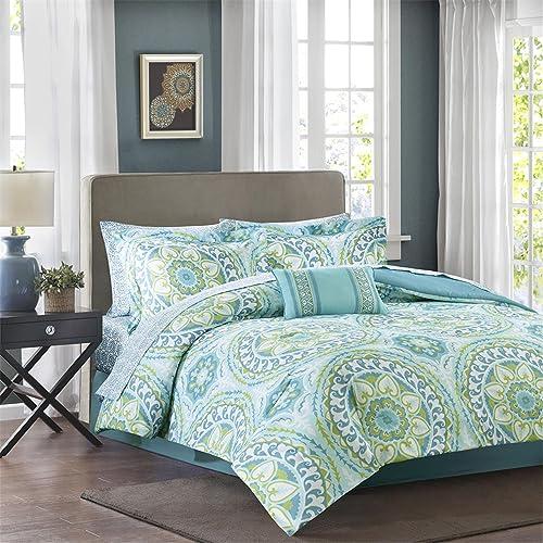 Aqua Green Bedding Sets King Amazoncom