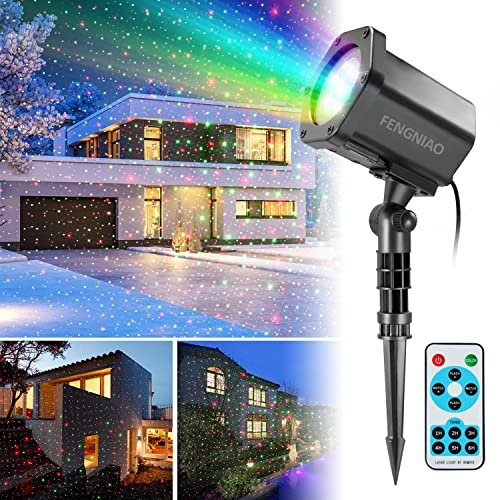 Commercial Lighting Generous 12 Patterns Projector Light Waterproof Sparkling Landscape Stage Light Lamp Party Lights Holiday Christmas Decorations For Home Modern Techniques Stage Lighting Effect