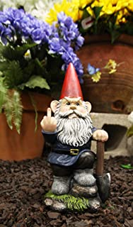 middle finger gnome for sale