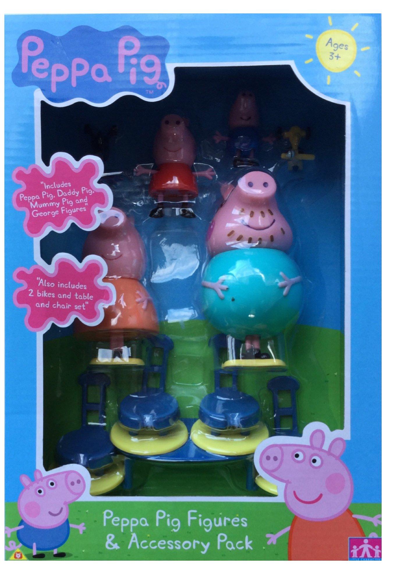 Figuras Peppa Pig Funtime y Accesorios Paquete: Amazon.es: Electrónica