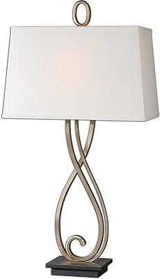 CAL Lighting BO-2270TB Norwalk Resin and Metal Table Lamp
