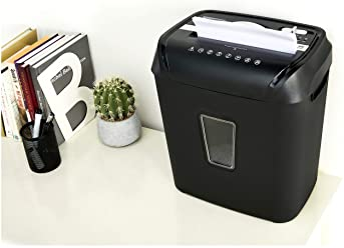 AmazonBasics 12-Sheet Cross-Cut Paper and Credit Card Home Office Shredder