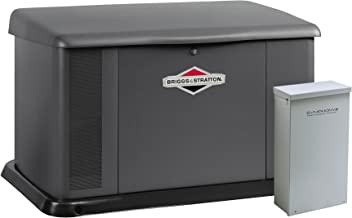 Briggs & Stratton 40346 20000-Watt Home Standby Generator System with 200 Amp Automatic Transfer Switch