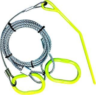 Timber Tuff TMW-48 Log Choker Cable with Ring and Probe Stake