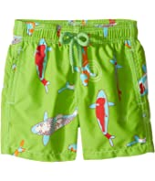 Vilebrequin Kids - Peaceful Carps Swim Trunk (Toddler/Little Kids/Big Kids)