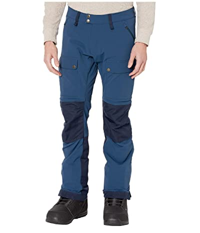 Fjallraven Keb Touring Trousers (Storm/Night Sky 1) Men