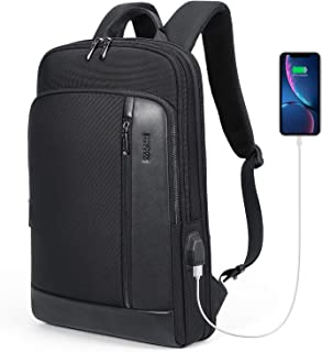 AmazonBasics Sports Backpack AmazonBasics Campus Laptop Backpack - Black Deegotech Extra Large Backpack for Men, 18.4 Laptop Backpack Durable Heavy Duty School Backpack with USB Port, TSA Friendly Water Resistant Travel Backpack Big College Bag Business Backpacks,Black AmazonBasics Campus Backpack for Laptops up to 15-Inches - Green KOOSOM Men Slim Leather Laptop Backpack with USB Charging Port Water-Resistant Anti Theft Travel Backpack for Men Women College Students
