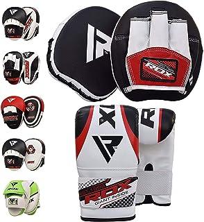RDXボクシングハンド ミットMMAフォーカスミットパンチムエタイキックボクシングトレーニングストライクパッドターゲットボクシンググローブ