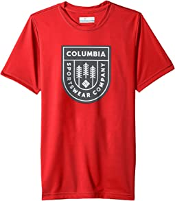 Columbia Kids - Badge N' Flag Short Sleeve Shirt (Little Kids/Big Kids)
