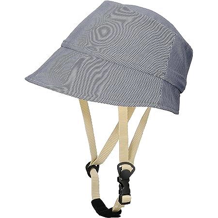 CAPOR(カポル) バーチ C624FHDL ストライプブルー M(56~59cm) 着せ替え用帽子付き自転車ヘルメット