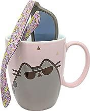 Pusheen Sunglass Gold Pink Mug and Pusheen Sunglasses – Set of 2 Items