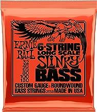 Ernie Ball 6-String Slinky Nickel Wound Bass Set, .032 - .130
