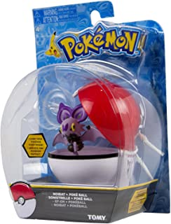 TOMY Pokemon XY Clip N Carry Dedenne and Poke Ball Action Figure