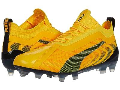 PUMA One 20.1 FG/AG (Ultra Yellow/Puma Black/Orange Alert) Men