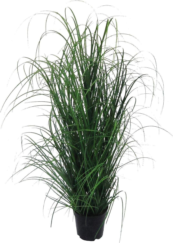 Kunstpflanze Gras, Dekogras. GRASBUSCH IM TOPF. Ca 120 cm. OHNE übertopf.