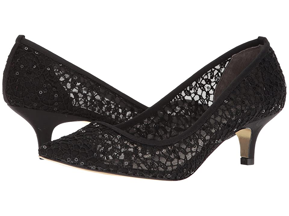 Adrianna Papell Lois Lace (Black Martinique Lace) Women