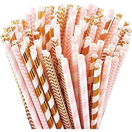 200 mm Long Party Specialist 200 PCs Pink Slushy Spoon Straws Free Postage